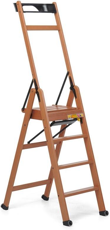 Foppapedretti LaScala 4 Escalera de Cinco peldaños, Madera, Nogal: Amazon.es: Bricolaje y herramientas