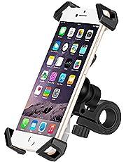 IceFox Universele telefoonhouder voor op de fiets, anti-shake fiets of motorfiets, 360 draaibaar, voor smartphones van 3,5-6,5 inch, GPS, andere apparaten