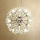 18 Pcs Lights Chandeliers Firework led Vintage Wrought Iron Chandelier Island Pendant Lighting