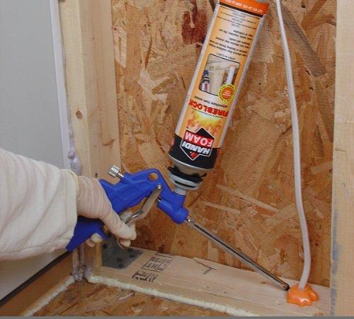Fomo Products Inc. P30181 Handi-Foam FireBlock Polyurethane Foam Sealant - Gun Foam