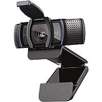 Logitech C920S HD Pro Webcam, Videosamtal i 1080p, HD-autofokus och ljuskorrigering, Stereoljud med dubbla mikrofoner…