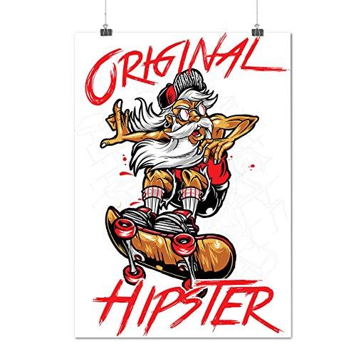 vintage skateboard poster