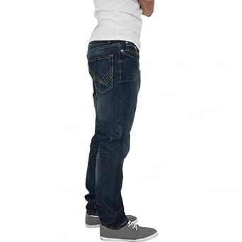 Urban Classics Straight Fit Jeans Blue Stone, Blue  Amazon.fr  Vêtements et  accessoires 58c5683d7a9b