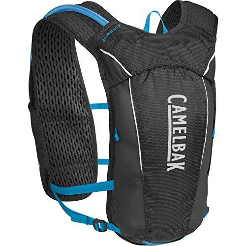 CamelBak Circuit Crux Reservoir Hydration Vest, Black/Atomic Blue, 1.5 L/50 oz