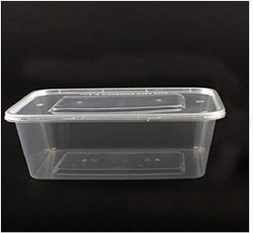 Xiao-bowl3 300 Cajas de Embalaje Desechables rectangulares de ...