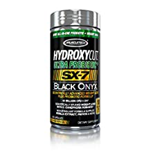 Muscletech Products - Hydroxycut Ultra Probiotic+ SX-7 Black Onyx - 80 Capsules