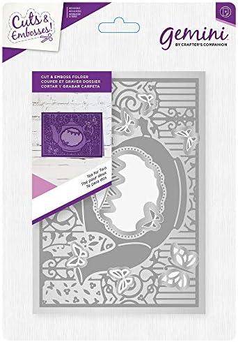 Gemini Cut and Emboss Folder-Tea for Two 5 x 7