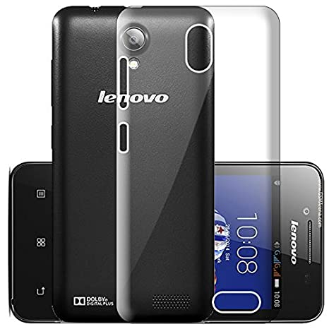 low priced d09e7 46ded ECellStreet Silicone Soft Back Cover for Lenovo A319: Amazon.in ...
