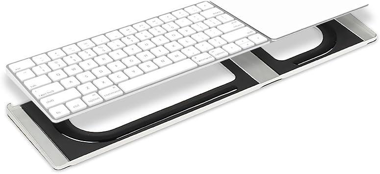 Soporte de Aluminio para Apple Magic Teclado y trackpad 2 más ...