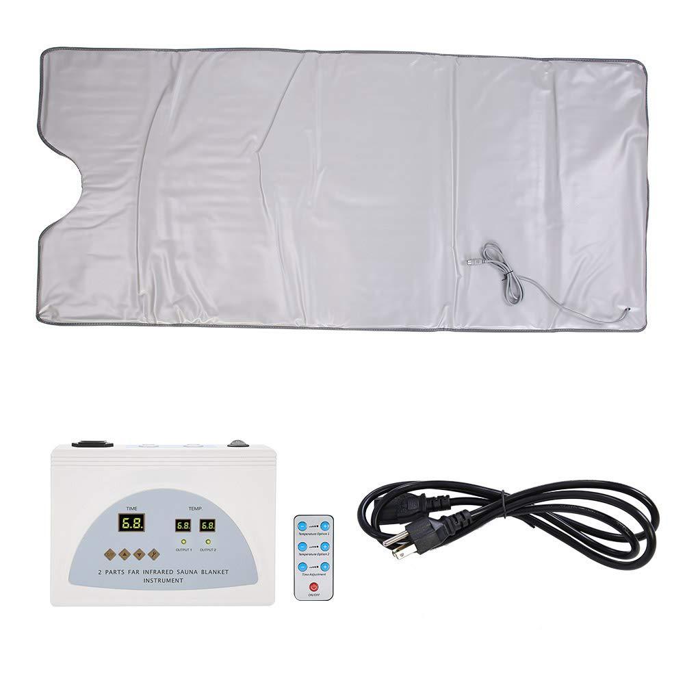 GOTOTOP Far Infrared Sauna Blanket Body Shaper Weight Loss Sauna Slimming Blanket Detox Therapy Machine