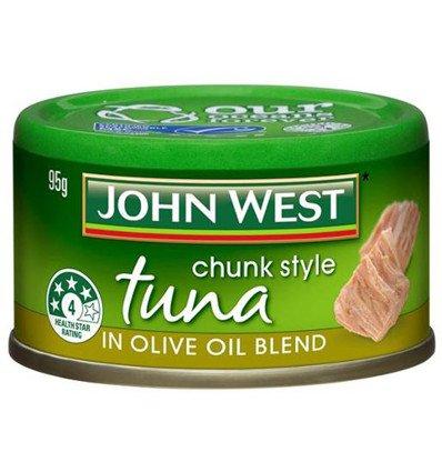 (John West Tuna Tempters Olive Oil Blend 95gm)