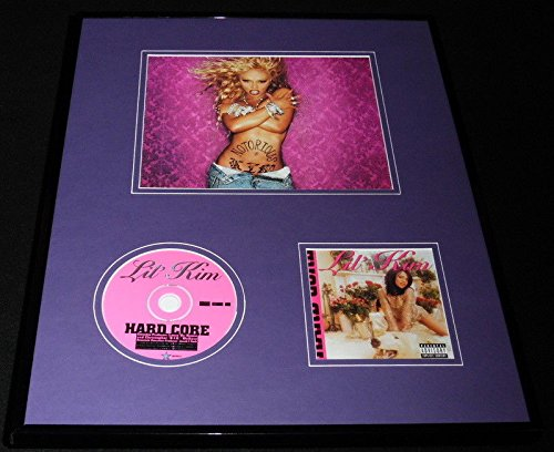 Lil Kim Framed 16x20 Hard Core CD & Photo Display