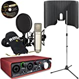 RODE NT1-A Studio USB Interface Kit - Scarlett 2i2 + VoxGuard + Tripod Mic Stand