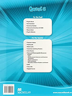 QUEST 6 Ab Pk (+skills tr) (Tiger) - 9780230478725: Amazon.es: Mohamed, Emma: Libros en idiomas extranjeros