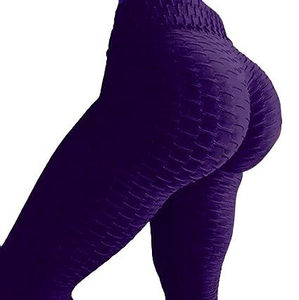HTDBKDBK Womens High Waist Yoga Pants Tummy Control Slimming Booty Leggings Lift Tights Leggings