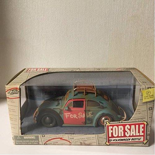 Jada ジェイダ For Sale 59 VW Beetle ビートル 1/24 B077X7637F