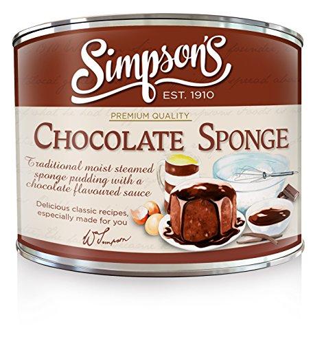 Simpson's Chocolate Sponge, Chocolate, 10.5 Ounce