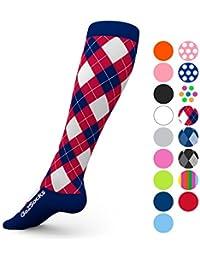 for Women and Men Athletic Running Socks for Nurses Medical Graduated Nursing Compression Socks for Travel Running Sports Socks