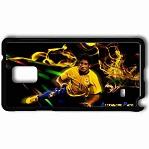 taoyix diy Personalized Samsung Note 4 Cell phone Case/Cover Skin Alexandre pato Black