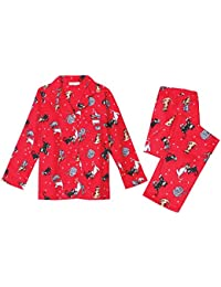 Women's Cats Flannel Pajama Set