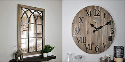FirsTime Co. Grandview Arched Window Mirror