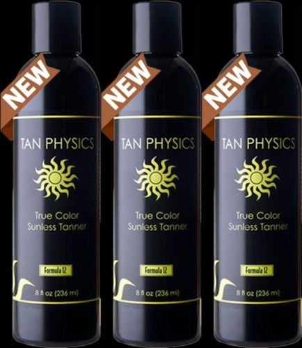 Tan Physics True Color ( 3 Pack) w/ 5 FREE pairs of application gloves by Tan Physics