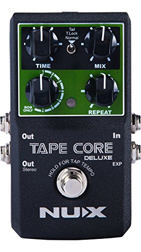 NUX Tape Core Deluxe Tape Echo Delay Guitar pedal True Bypass Firmware ()