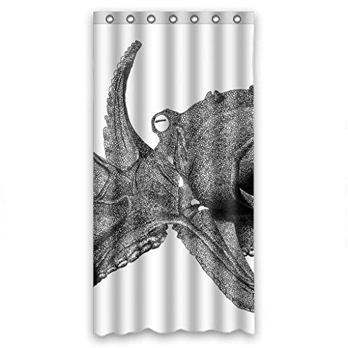 """Gray unique octopus Shower Curtain Measure 36""""(w)x72""""(h)"""