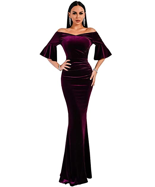 78c30e270 Missord - Vestido - Noche - Manga Corta - para Mujer Morado Morado X-Small
