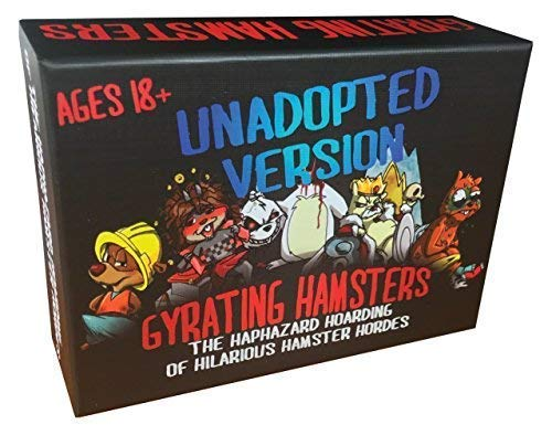 - Gyrating Hamsters Card Game: Unadopted Version (NSFW, Adults Only)