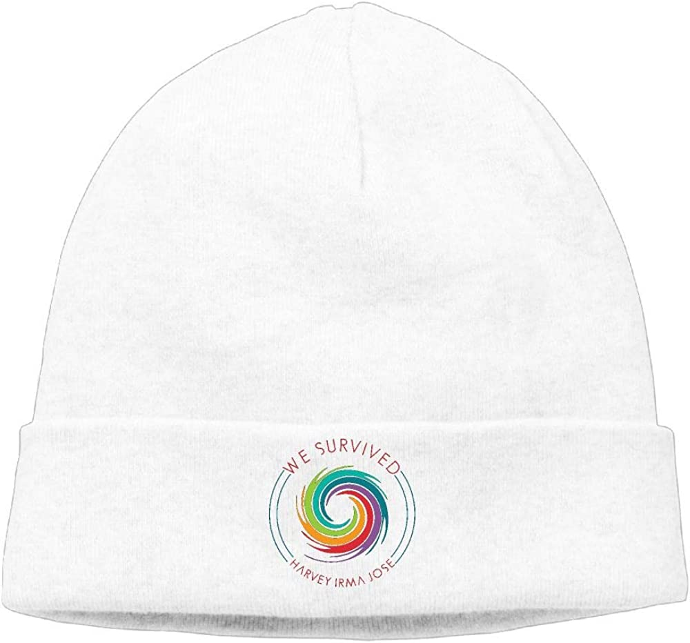 BOYCAPS We Survived Hurricane Hedging Hat Unisex Autumn//Winter Cap