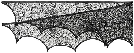 51SvuEB%2B7EL. AC  - Black Halloween Garland Mantle Decorations Indoor