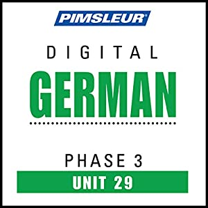 German Phase 3, Unit 29 Audiobook