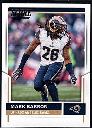 reputable site 9cdcc f55a6 Football NFL 2017 Score #170 Mark Barron LA Rams