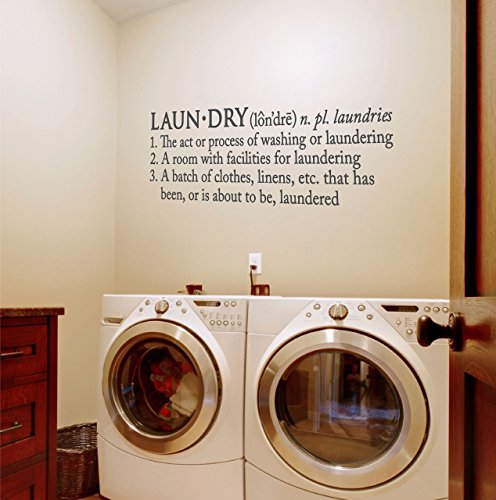 Sticky Wall Vinyl Laundry Decal product image
