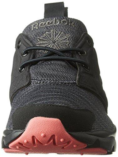 Reebok Furylite Sole, Zapatillas para Mujer Negro (Black/ Gravel/ Fire)