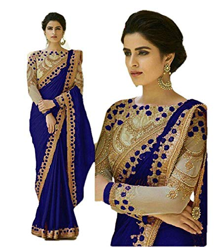 Latest REKHA Ethnic Wear Indian Traditional Designer Saree with Embroidery Work Party Wear Sari 06 Saree 2
