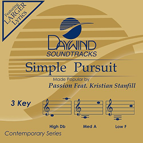 Passion Feat Kristian Stanfill Simple Pursuit Accompaniment