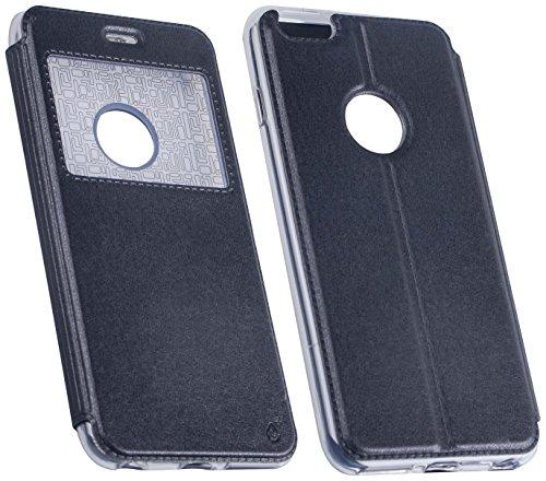 One plus Metallic Cover Fall für Samsung Galaxy S7Edge–Schwarz