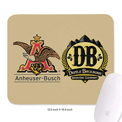 Mouse Pad Anheuser Busch to Acquire Devils Backbone A Mouse Pad Printed Colorful Mouse Pad Durable Waterproof Nonslip Fit Designer&Game Player