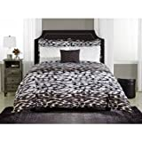 Mainstays Zaria Bed-in-a-Bag Bedding Set Animal Print Comforter Set (Queen)