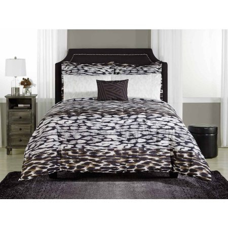 Mainstays Zaria Bed-in-a-Bag Bedding Set Animal Print Comforter Set (Twin/Twin XL) by .