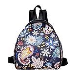 Travel Backpack,Hemlock Teen Girl School Backpacks Cartoon Bags (Blue)