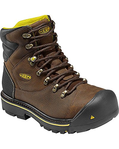 UPC 871209979516, KEEN Utility Men's Milwaukee 6-Inch Soft Toe Work Boot,Slate Black,13 D US