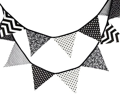 3.3M Banderines Guirnalda de Banderines,Banderines de Tela,Guirnalda Fiesta,Triángulo Banner,para Decoración,Fiestas de Cumpleaños de Boda: Amazon.es: Hogar