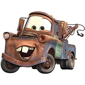 Roommates Rmk1519Gm Disney Pixar Cars Mater Peel U0026 Stick Giant Wall Decal Part 58
