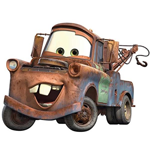 Roommates Rmk1519Gm Disney Pixar Cars Mater Peel & Stick Giant Wall (Disney Pixar Cars Halloween Costumes)
