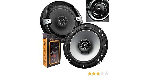 300 Watts Peak JVC CS-DR162 DR Series 6.5 Inch 2-Way Coaxial Speakers