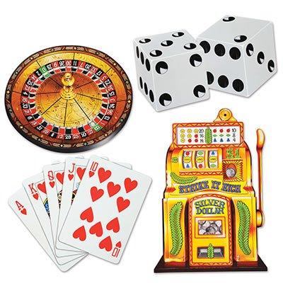 Vegas Cutouts   (4/Pkg) -