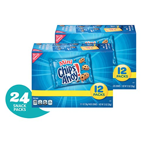 Chips Ahoy Mini Chocolate Chip Cookies Snack Pack  24 Individual Snack Pack